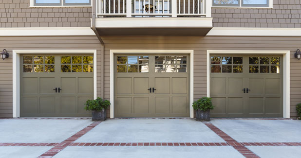 Residential garage door installation Rhode Island