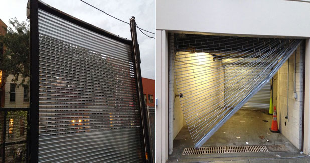 See through roll up gates & Overhead garage door or rolling gate?